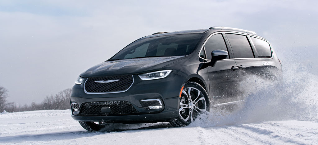 The new 2021 Chrysler Pacifica