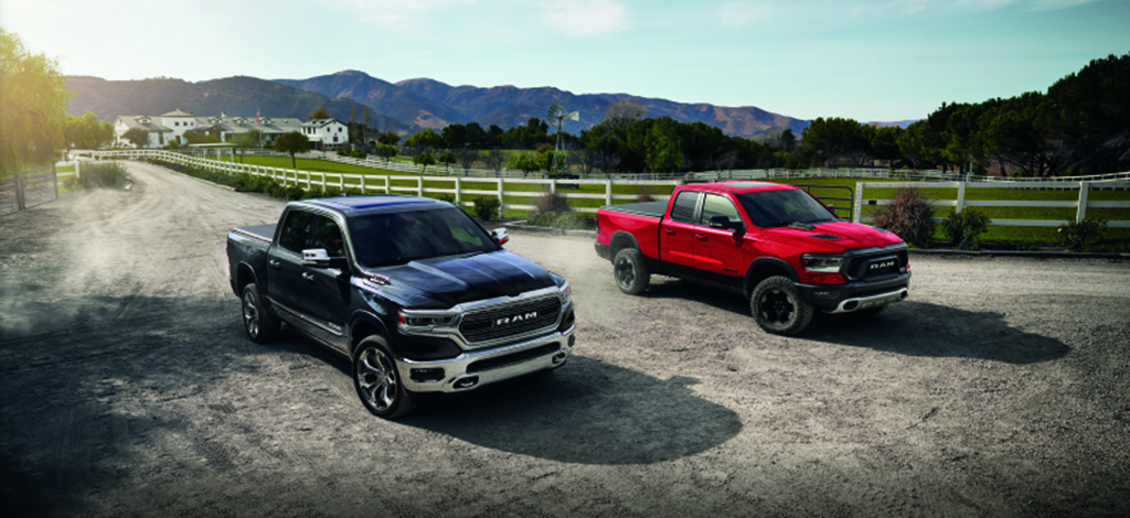 All New Ram 1500 vehicles