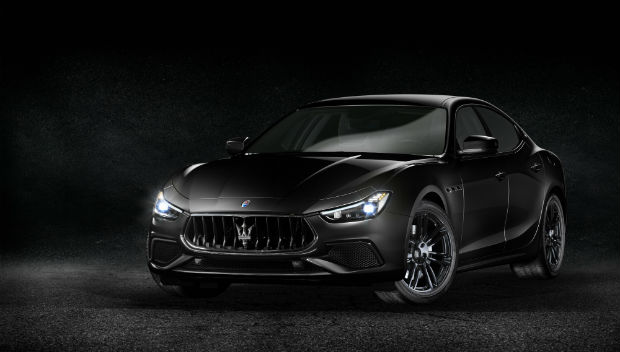 Maserati in Black Tie