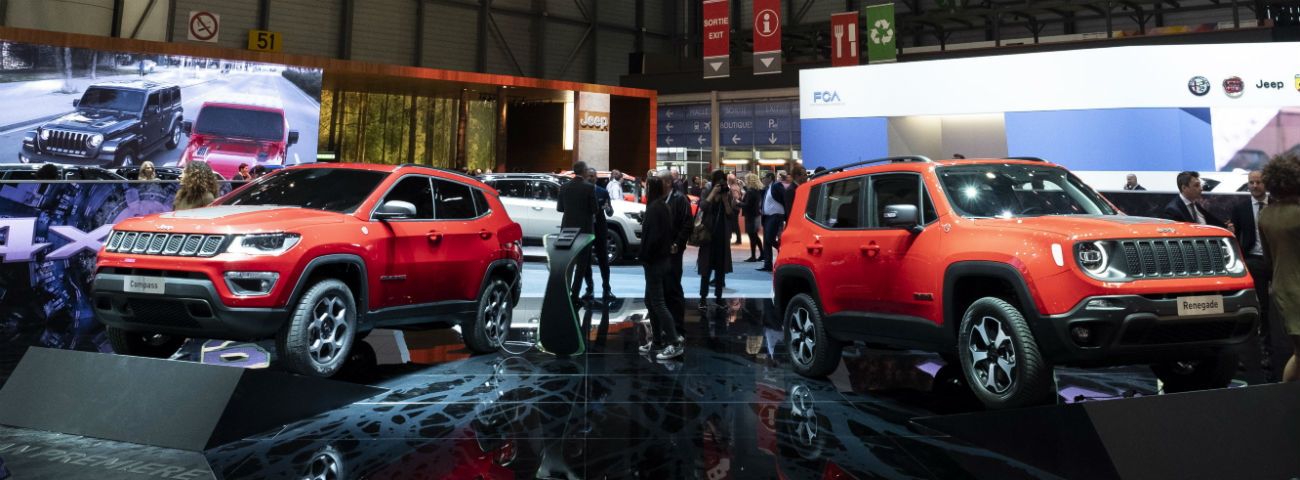 Jeep Renegade and Jeep Compass Hybrid