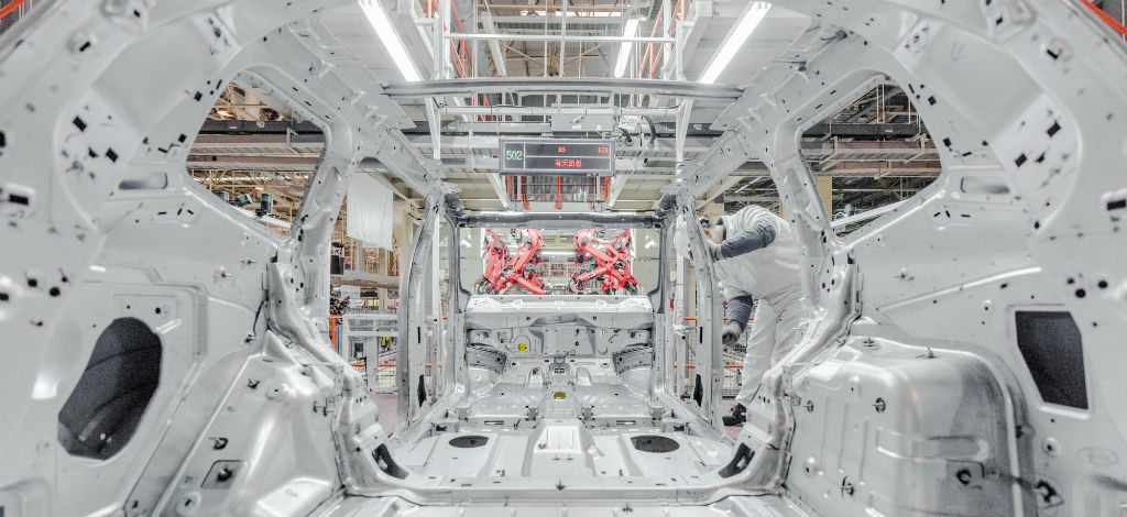 New Jeep Commander PHEV Changsha Plant, China