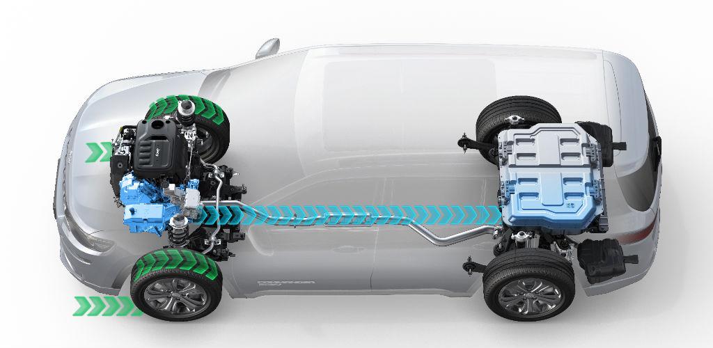 Nuova Jeep Commander PHEV - Kinetic Energy Recovery