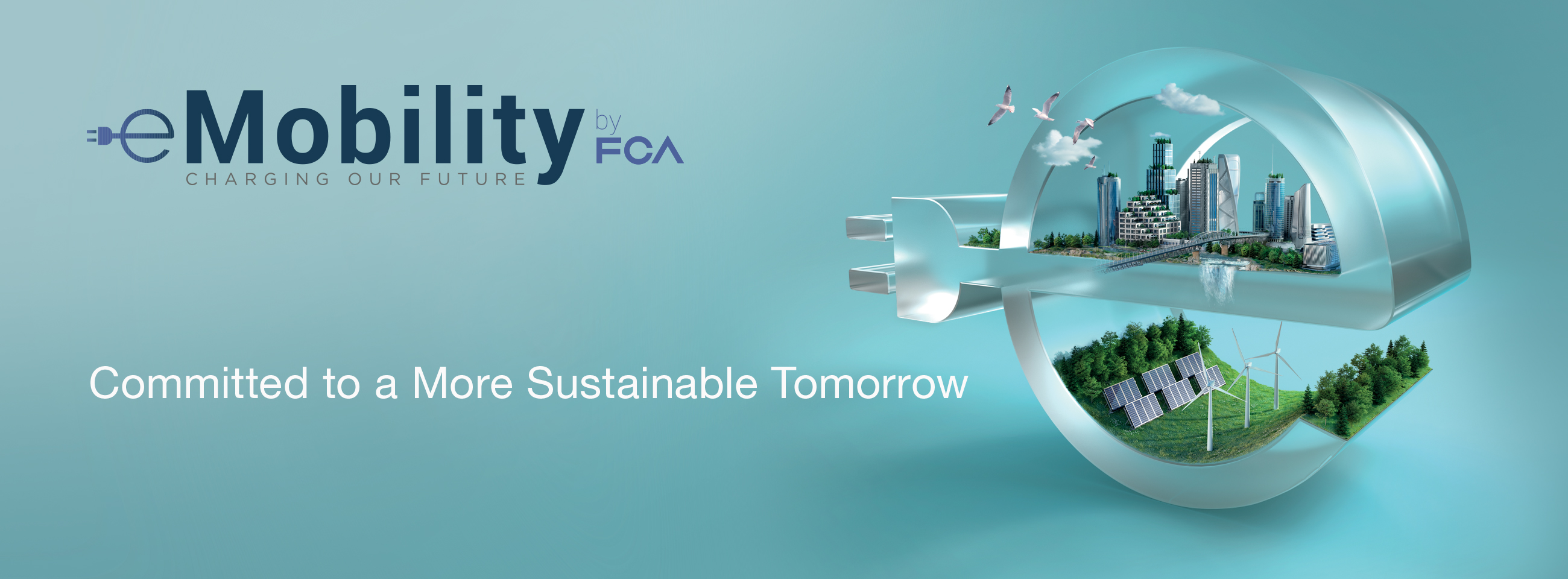 FCA eMobility canvas: Committed to a More Sustainable Tomorrow