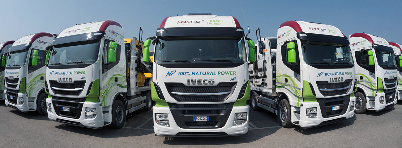 Camion IVECO Natural Power