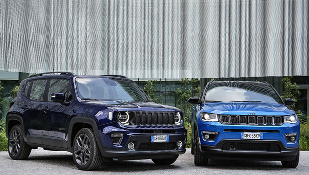 Jeep® Renegade and Compass 4xe