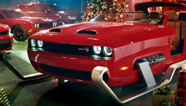 Dodge Campaign Shows Santa's Sleigh Getting Customized