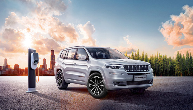 Nuova Jeep Commander PHEV