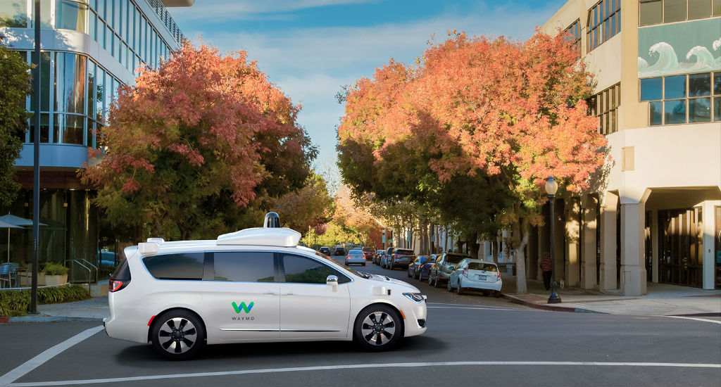 Pacifica Hybrid Chrysler-Waymo