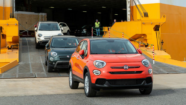 New 2019 Fiat 500X models arrive in the U.S.