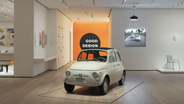 In the Spotlight: Fiat 500 at the MoMA in New York