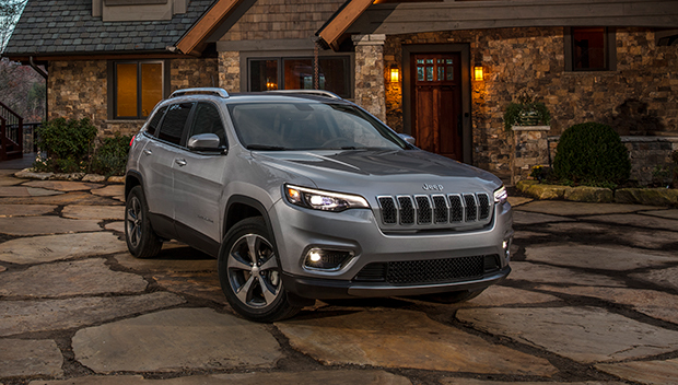 The new 2019 Jeep® Cherokee