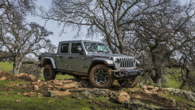 Jeep® Gladiator Dominates Annual Northwest Media 'Mudfest'