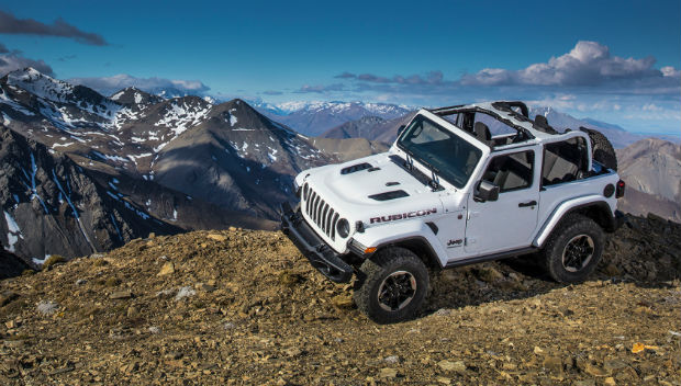 Wrangler Earns Kelley Blue Book's 'Most Awarded' Car